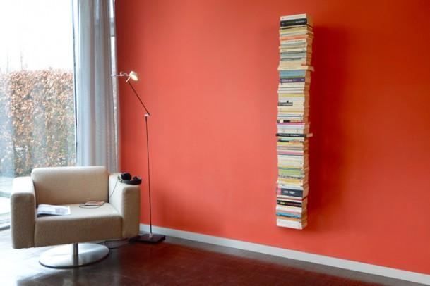 Bücherregal Booksbaum 2 Wand Gross schwarz