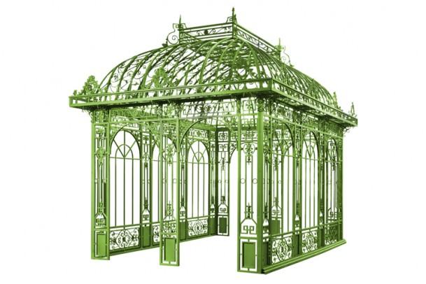 Gusseiserner Pavillon