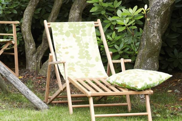 Teak Gartenliege Deckchair