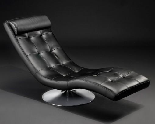 relaxliege leder modern neuesten design. Black Bedroom Furniture Sets. Home Design Ideas