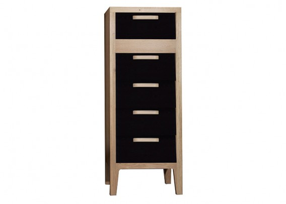 eiche kommode 60 39 s schr nke vitrinen wohnen gooran gmbh. Black Bedroom Furniture Sets. Home Design Ideas