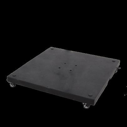 Granitplatte mit Rollen für Schirm Scorpio