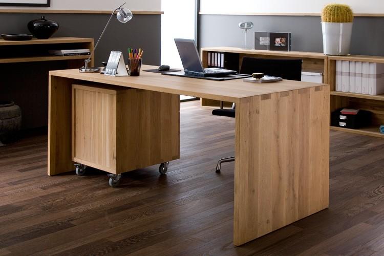 Eiche schreibtisch utable gooran haus garten for Schreibtisch eiche modern