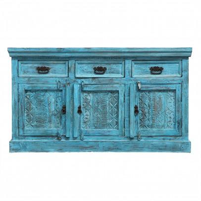Blaues Sideboard Preya