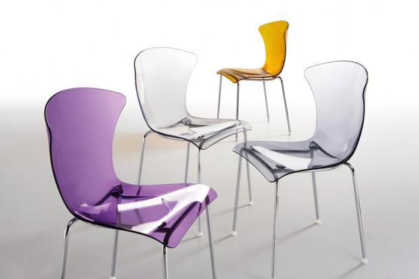 Design-Stuhl Glossy