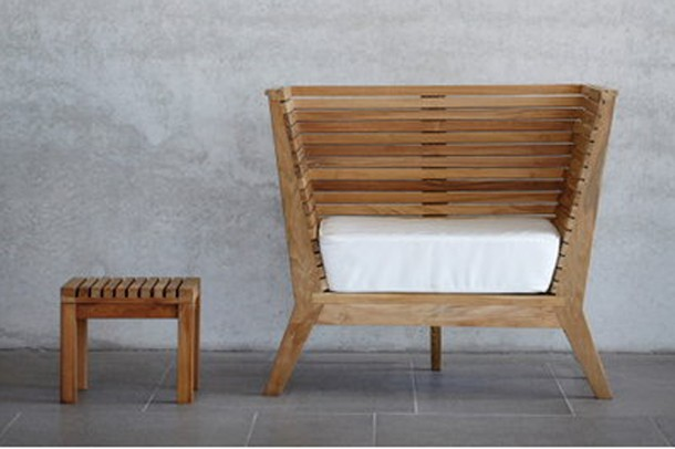 Teak Gartensessel William