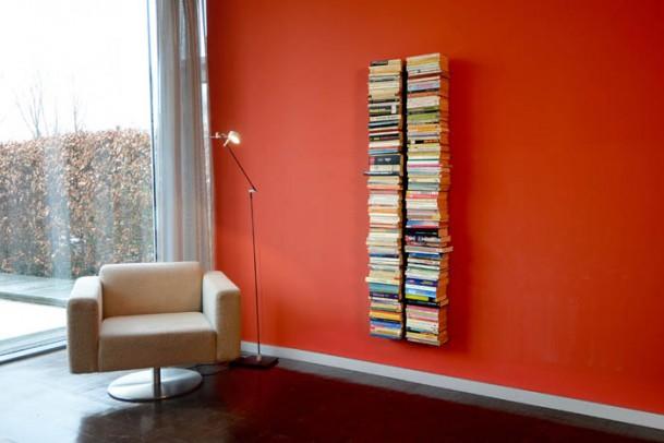 Bücherregal Booksbaum 1 Wand Groß silber