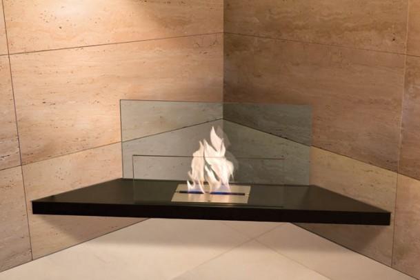 Ethanol-Kamin Corner Flame