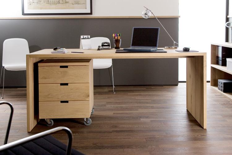 Schreibtisch Eiche Modern : Eiche Schreibtisch UTABLE  Modernes Wohnen  Wohnstil  Gooran GmbH