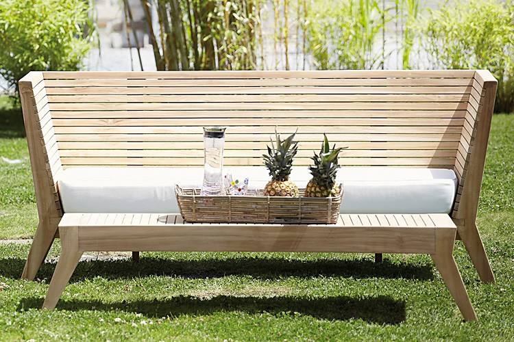 moderne gartenbank gartenbank maxima von traditional teak. Black Bedroom Furniture Sets. Home Design Ideas