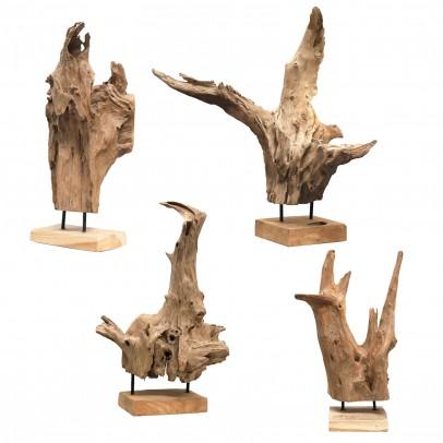 Wurzelholz Skulpturen
