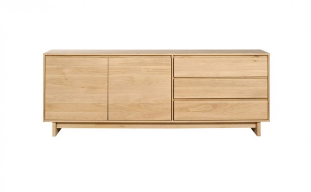 Eiche Sideboard Wave