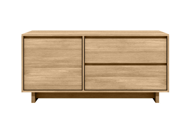 eiche tv board wave modernes wohnen wohnstil gooran gmbh. Black Bedroom Furniture Sets. Home Design Ideas