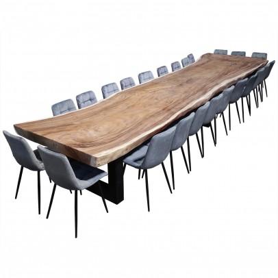 Baumscheibentisch 6,20 m Suarholz
