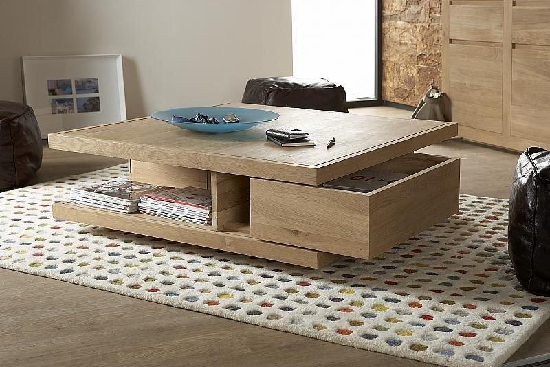 Couchtisch eiche modern  Eiche Couchtisch Flat | Modernes Wohnen | Wohnstil | Gooran GmbH