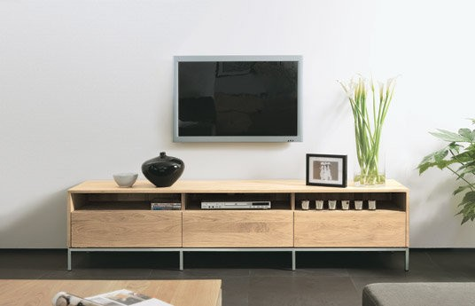 eiche tv board ligna modernes wohnen wohnstil gooran. Black Bedroom Furniture Sets. Home Design Ideas