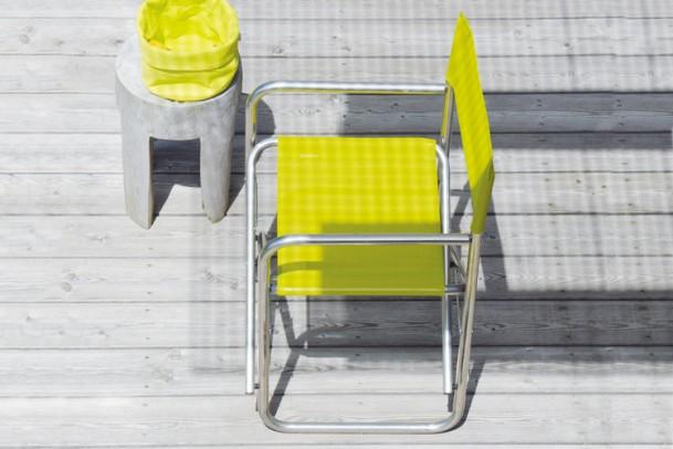 Aluminium Sessel Regie