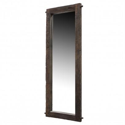 Spiegel aus antiken Eichenbalken
