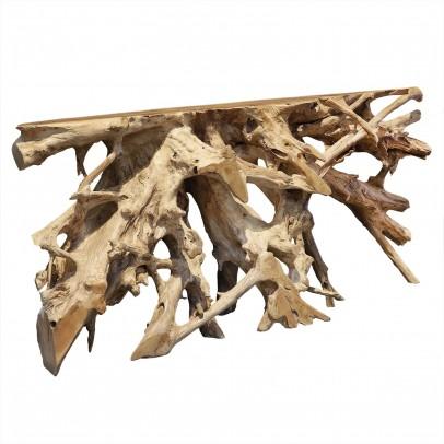 Wandtisch Roots aus Wurzelholz