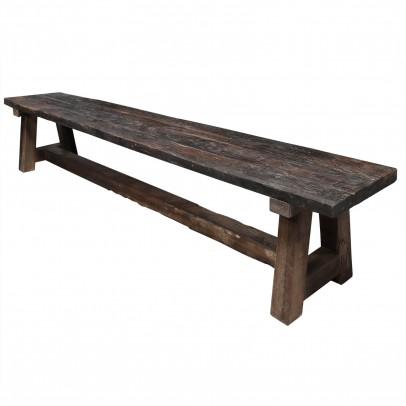 Rustikale Sitzbank 250 cm