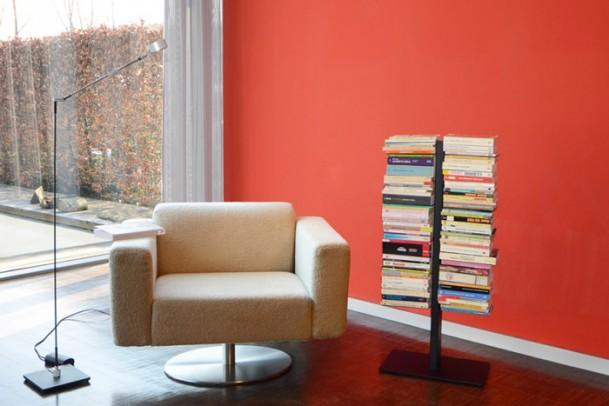 Bücherregal Booksbaum 1 Stand Klein silber